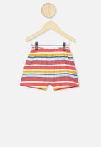 Cotton On - Hudson short sleeve pyjama set - multi