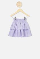 Cotton On - Summer skirt - purple