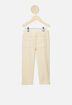 Cotton On - Blair tie front jean - dark vanilla