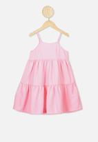 Cotton On - Mackenzie sleeveless dress - pink