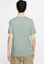 Nike - Breathe run short sleeve top - green