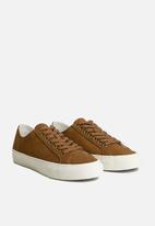 MANGO - Sport serra suede shoes - light pastel brown