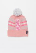 Converse - Can all star stripe beanie - pink