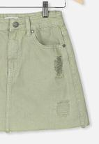 Free by Cotton On - Florence skirt - green