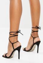 Public Desire - Chic stiletto heel - black