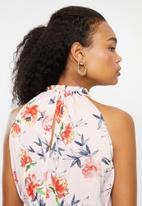 Jacqueline de Yong - Sylvester short sleeve dress - multi