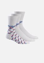 Reebok Classic - Classic crew 3 pack socks - multi