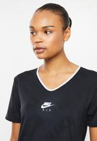 Nike - Nike air short sleeve top - black