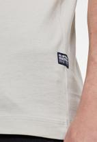 G-Star RAW - Chest logo gr tee - grey
