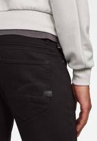 G-Star RAW - D-staq 5 pocket slim fit ac thermojust stretch jeans - black