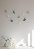 Umbra - Hummingbird wall decor - white