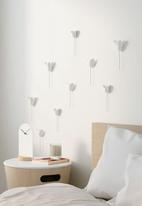 Umbra - Bloomer wall decor - white