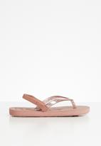 Roxy - Viva sparkle sandal - pink