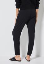 Superbalist - knit jogger - black