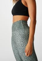 Cotton On - So soft tight - steely shadow ikat pebble