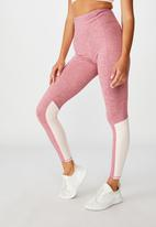 Cotton On - So soft tight - washed rose marle splice