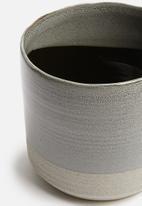 H&S - Sandy planter - charcoal