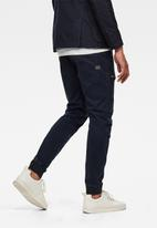G-Star RAW - Air defence zip 3d slim fit sport cuffed pants - navy