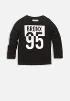 MINOTI - Bronx 95 graphic tee - black