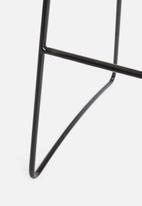 Sixth Floor - Grid kitchen stool - black