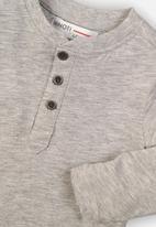 MINOTI - Slam dunk photographic print sweatshirt - grey