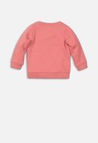 MINOTI - Teens fleece jumper - coral