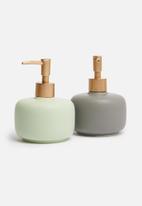 Bathroom Solutions - Soap dispenser - grey