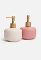 Bathroom Solutions - Soap dispenser - dusty pink