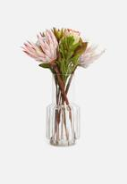 H&S - Glass vase - clear