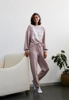 Me&B - Printed sweat top - dusty pink