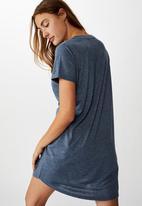 Cotton On - Tina T-shirt dress - ebony marle