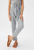 MANGO - Trousers ona - sand