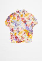Superbalist - Girls tie front shirt - multi