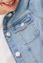 MANGO - Jacket allegra - blue