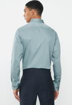 POLO - Greig long sleeve shirt - blue grey