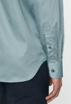 POLO - Greig long sleeve shirt - blue grey