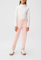 MANGO - Trousers praga6 - pink