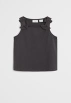 MANGO - T-shirt echanty6 - charcoal