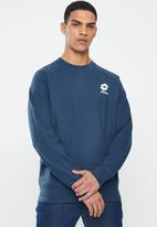 lotto - Smart sweat crew - navy