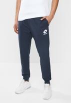 lotto - Smart sweatpants small logo - navy