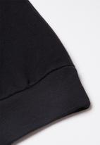 Quiksilver - Comp logo screen fleece crew - black