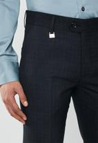 POLO - Classic custom fit formal trouser - navy