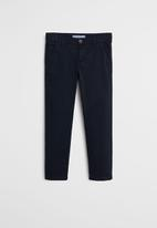 MANGO - Trousers piccolo6  - navy