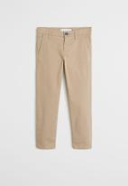 MANGO - Trousers piccolo6  - beige
