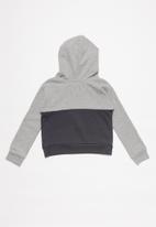 Levi's® - Levi girls sporty pieced hoodie - grey