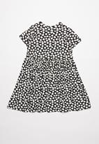 POP CANDY - Printed dress - black