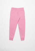 Nike - Nsw pe pant - magic flamingo & white