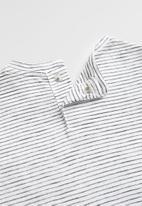 MANGO - T-shirt elia - black & white