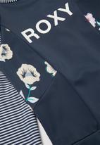 Roxy - Lets get salty long sleeve onesie - navy