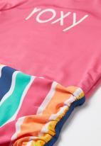 Roxy - Maui shade long sleeve onesie - multi